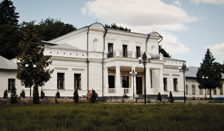 Дворец города Тростянец