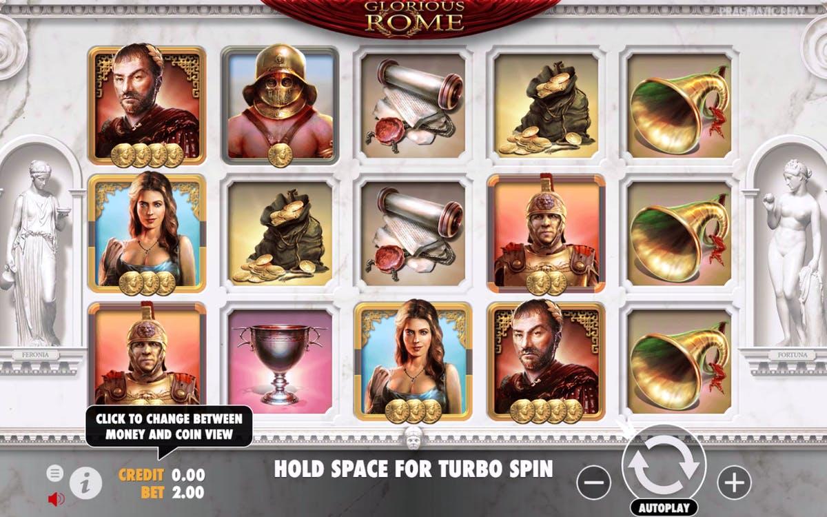 Слот Glorious Rome